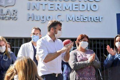 Achával inauguró la Unidad de Diagnóstico Intermedio Comodoro Meisner