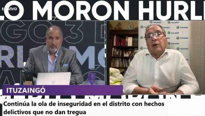 """Descalzo pidió terminar con la interna entre Nación y Provincia por la seguridad: """"no hace bien mostrar los trapos en público"""""""