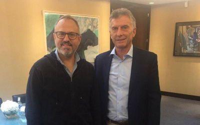 Valenzuela se reunió con Mauricio Macri