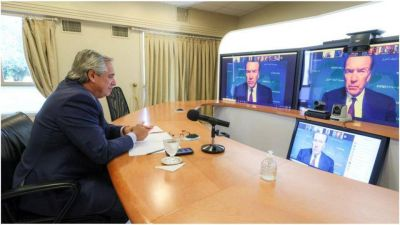 Alberto Fernández prometió honrar la deuda mientras Cristina Kirchner decía que no hay plata para pagar