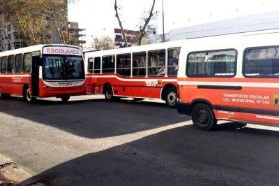 Piden a Provincia que garantice el acceso al servicio de transporte escolar terrestre