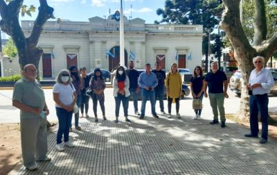 Raimondo recibió a Arietto para impulsar una agenda contra la inseguridad en San Vicente