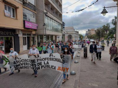 Jujuy: Trabajadores de la salud ratifican paro por reclamos de mejoras laborales