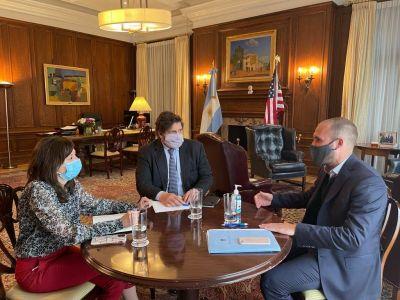 Gira por EE.UU.: Guzmán vuelve con acuerdos conceptuales con el FMI, pero sin definir plazos