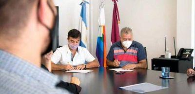 """La UOLRA acordó """"colaboración mutua"""" con el Instituto de Asociativismo y Economía Social"""