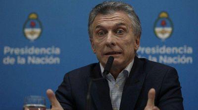 Macri arrancaría el segundo tiempo perdiendo por goleada