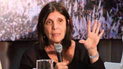 Teresa García negó