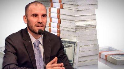 Guzmán negó que el Gobierno tome deuda a tasas del 18% en dólares