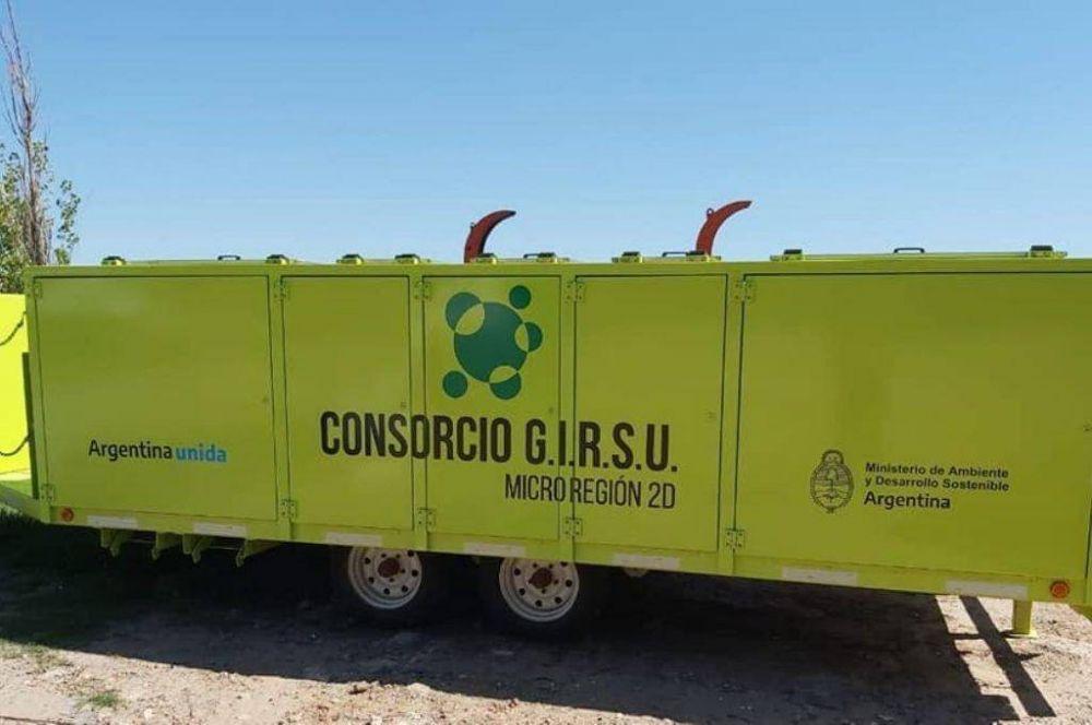 Con maquinaria valuada en $ 120 millones, 12 localidades avanzan para erradicar basurales
