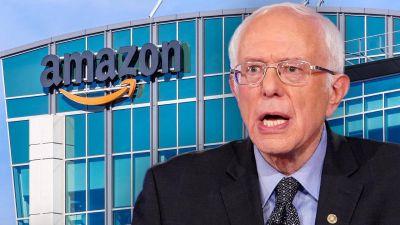 EEUU: Sanders visita trabajadores de Amazon en medio de una votación y prácticas antisindicales