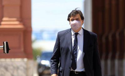 Moroni confirmó que «no tiene sentido parar» actividades, porque la mayoría de los contagios se producen fuera de los ámbitos laborales