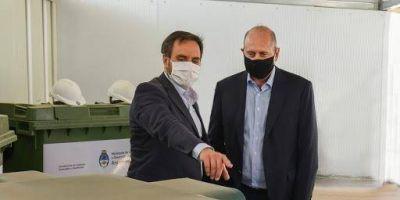 Residuos sólidos urbanos: entregarán equipamiento en la provincia