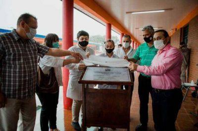 Inauguraron nuevas obras en escuela de Concepción de la Sierra