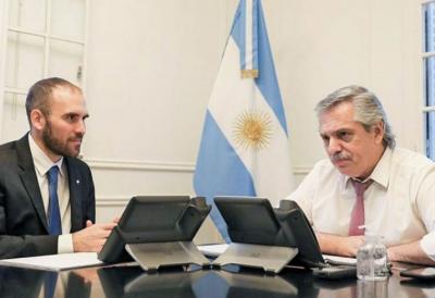Alberto y Guzmán cierran filas con el kirchnerismo por el acuerdo con el FMI