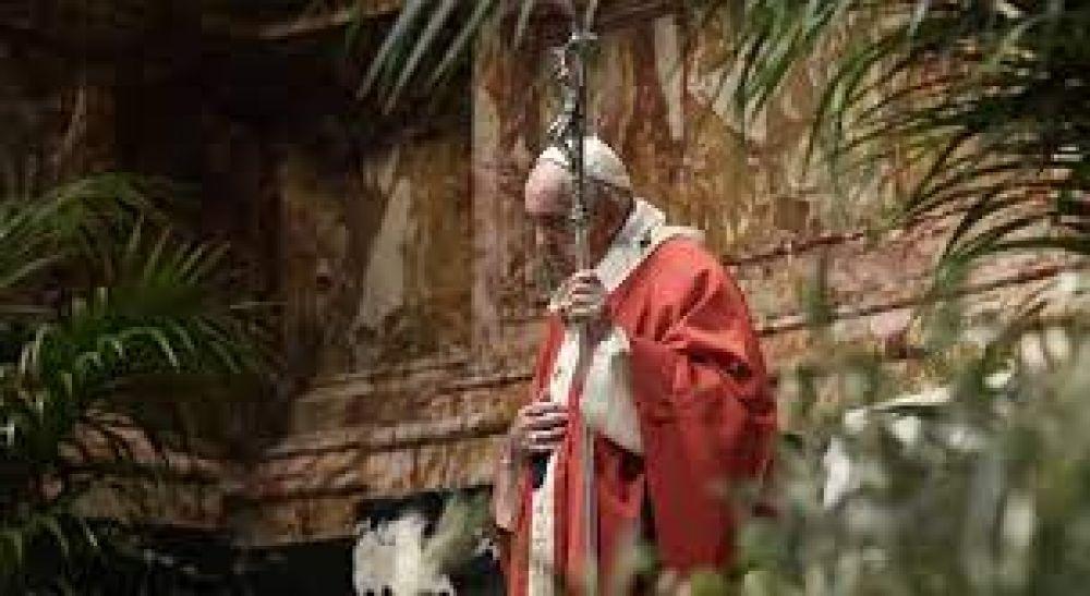 El Papa en el Domingo de Ramos: pidamos la gracia del estupor