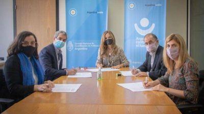 Danone firmó un acuerdo con el Consejo Nacional de Coordinación de Políticas Sociales