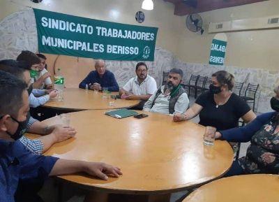 Integrantes de la Federación bonaerense de Sindicatos Municipales estuvieron en Berisso