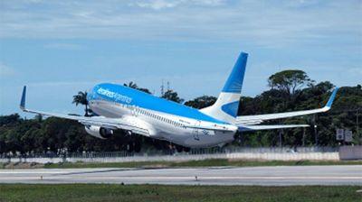 Aerolíneas cancela vuelos a México, Brasil y Chile hasta el 9 de abril