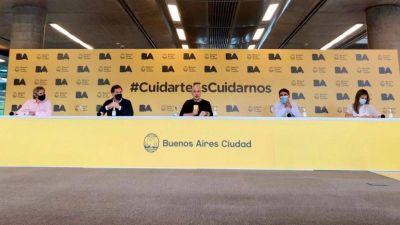 Rodríguez Larreta anunció la vacunación para mayores de 70 y admitió un