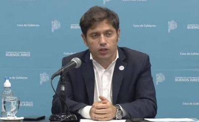 "Kicillof anunció modificaciones a la normativa provincial y llamó al ""debate popular"""