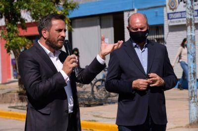 Cabandié y Perotti entregaron equipamiento para la gestión integral de los residuos en provincia de Santa Fe