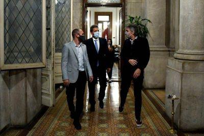 ¿De qué hablaron Máximo Kirchner, Martín  Guzmán y Sergio Massa?