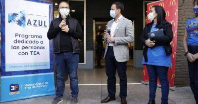 """Valenzuela: """"Es una política única en el Conurbano que mejorará la experiencia social de las personas con TEA"""""""