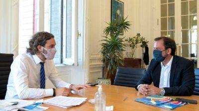 Cafiero y Sujarchuk dialogaron sobre la próxima Expo Escobar 2021