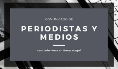 """Periodistas regionales se dirigieron al titular del Concejo de Berazategui por la """"actitud esquiva"""" del cuerpo a dar información"""