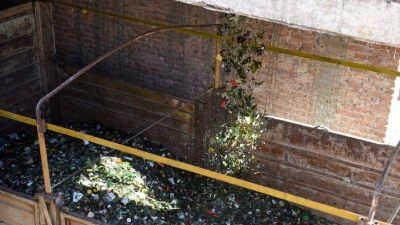 Capilla del Monte recicló más de 18 mil kilos de vidrio
