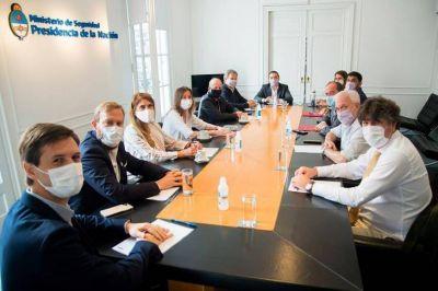 Los intendentes más cercanos al kirchnerismo se suman a la coordinación de seguridad con Frederic