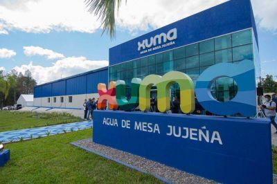 Jujuy: Inauguraron la primera planta estatal embotelladora de agua de mesa