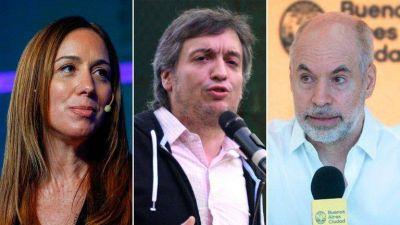 Máximo Kirchner propone a Vidal y Rodríguez Larreta un acuerdo político para encarar la negociación con el FMI