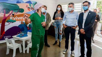 Inauguraron en Hurlingham obras en el centro de salud Ángel Bo