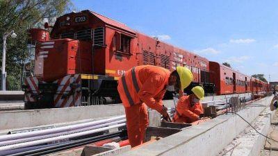 Avanzan las obras en la estación de trenes de Del Viso