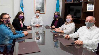 Mantegazza se reunió con Estela Díaz por la desaparición de Tehuel