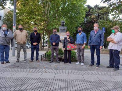 """El """"radicalismo K"""" recordó a Alfonsín"""