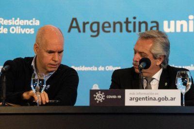Alberto Fernández y Horacio Rodríguez Larreta se reunirán de urgencia por la escalada de contagios de COVID-19
