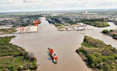 El Colegio de Ingenieros de la Provincia se sumó al reclamo por el dragado del Canal Magdalena