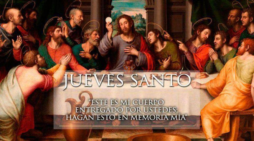 Hoy celebramos el Jueves Santo: La Última Cena del Señor
