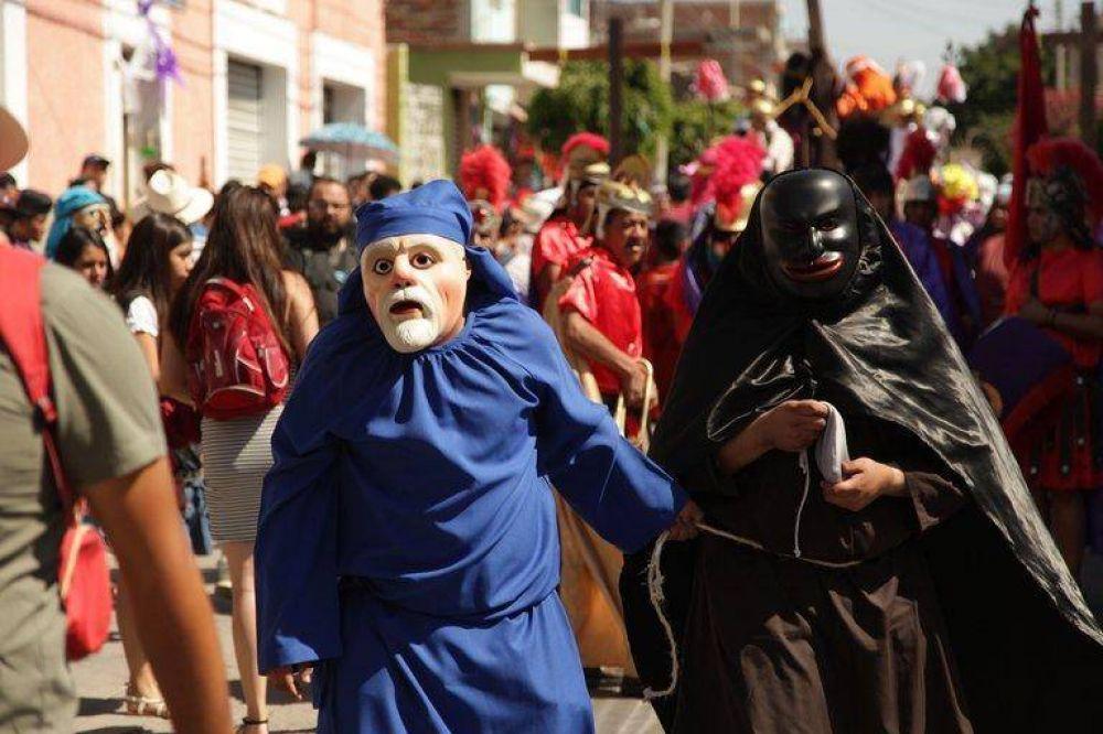 """Qué es la """"Judea"""": una fiesta de Semana Santa protagonizada por el apóstol traidor, Judas"""