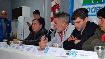 La CGT regional apoyó a los trabajadores de sanidad