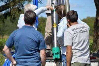 Agua corriente: el municipio instaló un nuevo sistema de impulsión flexible para pozos en Zapiola