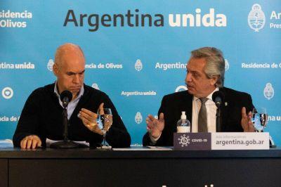 Alberto Fernández y Horacio Rodríguez Larreta se reunirán el sábado en Olivos para analizar la suba de casos de coronavirus