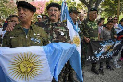 Un 2 de abril con actos y anuncios en homenaje a los excombatientes de Malvinas