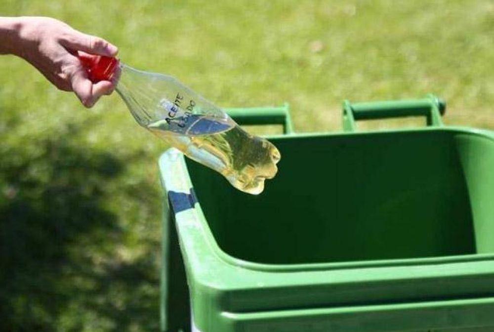 Bombal comienza a reciclar el aceite vegetal usado