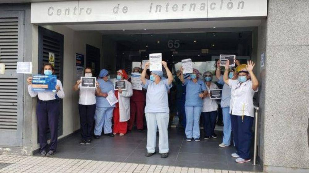 Trabajadores de la salud de Córdoba anunciaron un paro total
