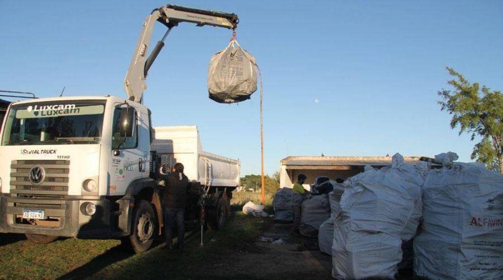 El municipio de General Pico entregó 9 toneladas de residuos electrónicos