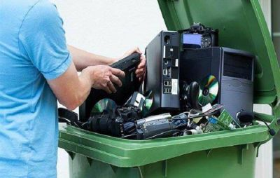 Desde este lunes recibirán basura electrónica para ser reciclada