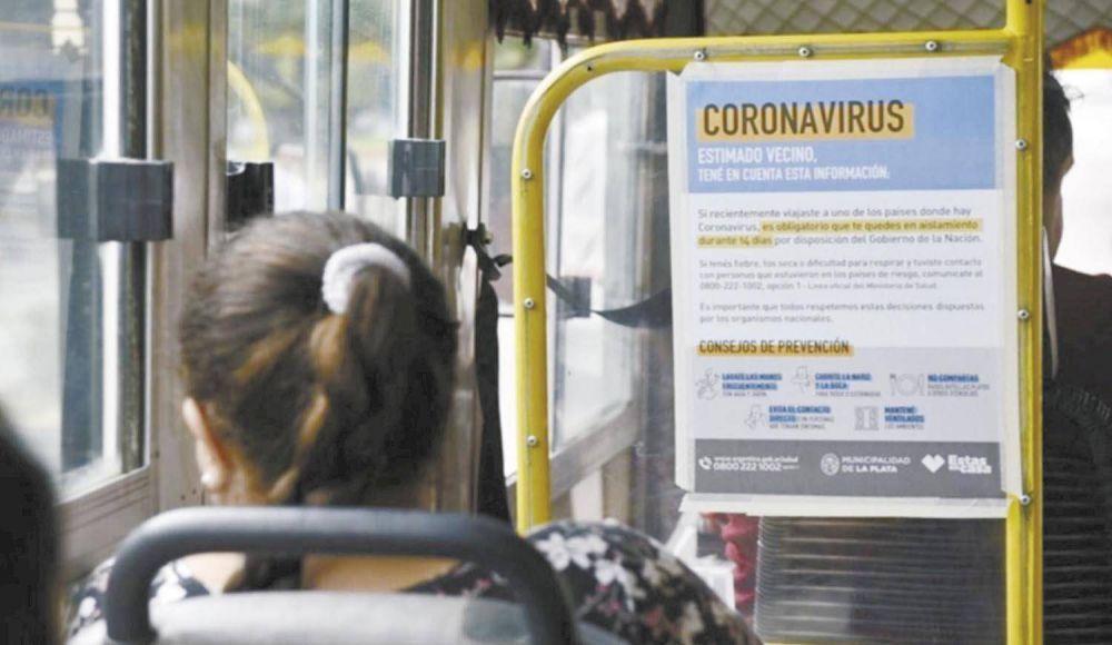 Desde este lunes habrá más controles en colectivos de La Plata